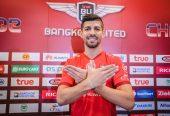 Así fue presentado Nelson Bonilla en el Bankgkok United FC